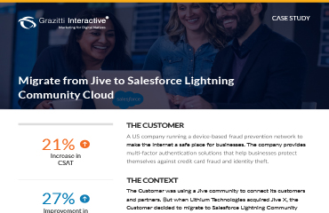 Migrate from Jive-x to Salesforce Lightning Community Cloud