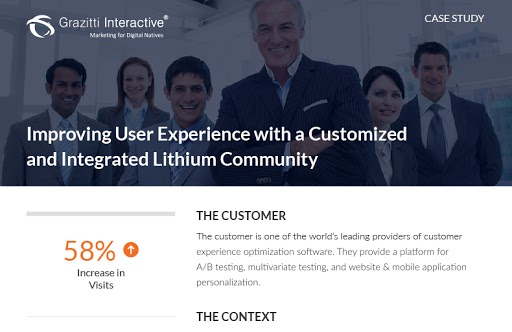 Improving User Experience with a Customized and Integrated Lithium Community