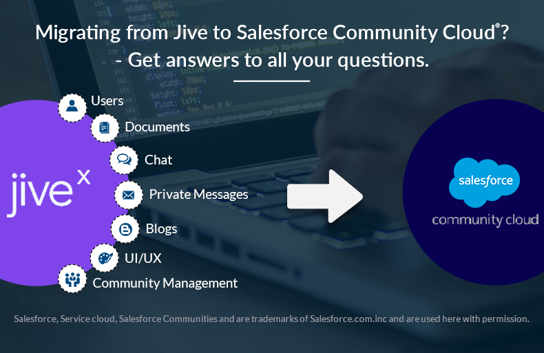 Migrating From Jive-x to Salesforce Community Cloud? Get Answers to All Your Questions