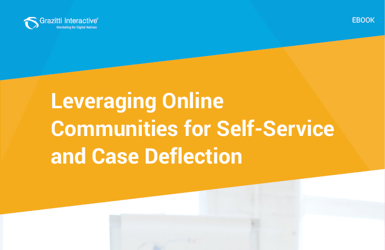 Leveraging Online Communities for Self-Service and Case Deflection