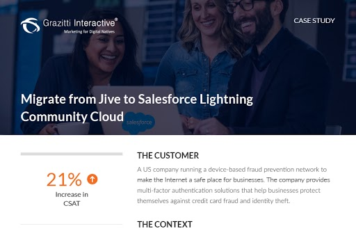Migrate from Jive to Salesforce Lightning Community Cloud