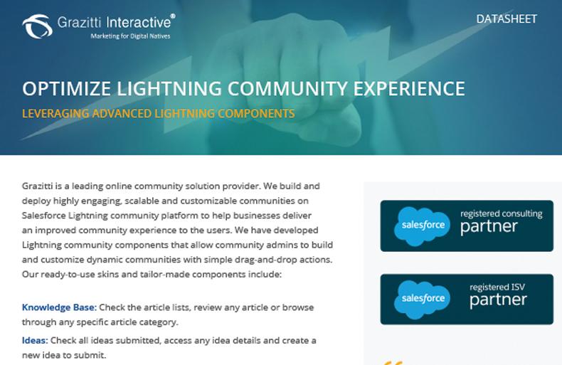 Optimize Lightning Community Experience