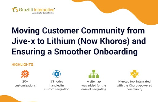Migrating Customer Community from Jive-x to Lithium (Now Khoros) and Ensuring a Smooth Onboarding